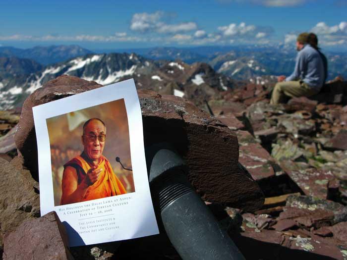 Thunder Pyramid with the Dalai Lama