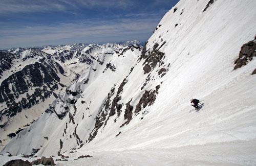 14er Ski Descents – South Maroon Peak – June 1, 2008