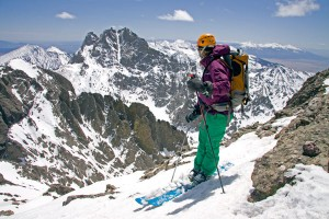 14er Ski Descents – Kit Carson – April 26, 2009