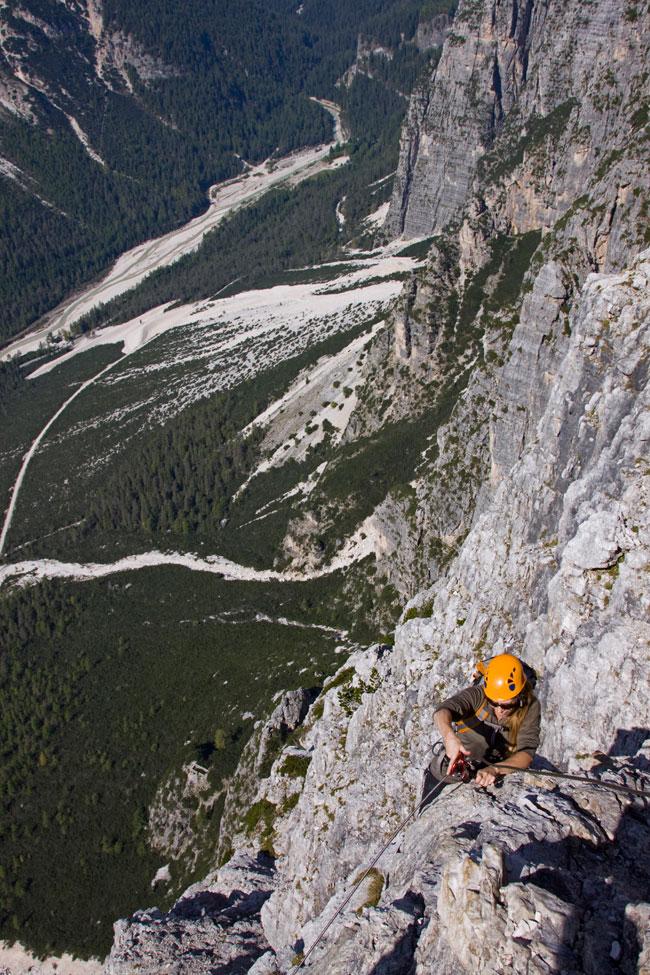 Dolomiti – Part I – Punta Fiames