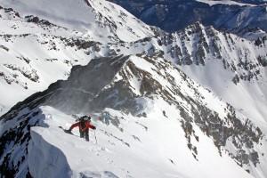 14er Ski Descents – Castle Peak – April 2, 2011