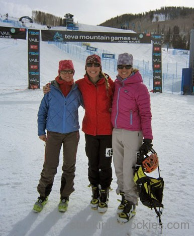 A Little Teva Winter Games Skimo Adventure