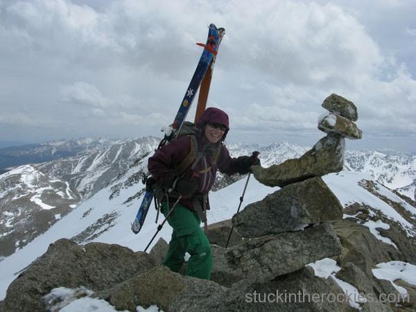 14er Ski Descents – Mount Massive – May 10, 2009