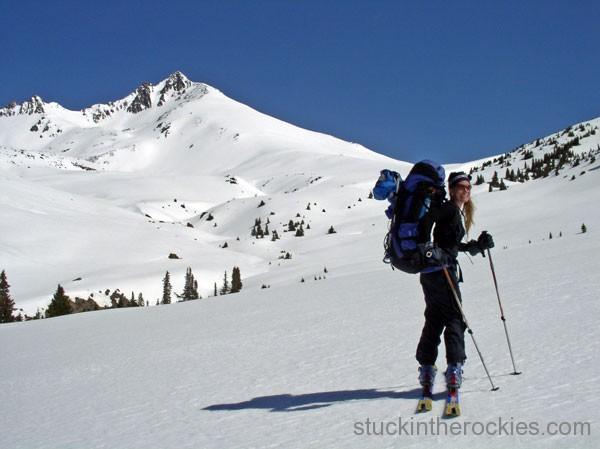 14er Ski Descents – Uncompahgre Peak – April 17, 2004