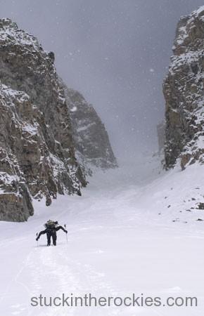 14er Ski Descents – Castle Peak – April 20, 2004