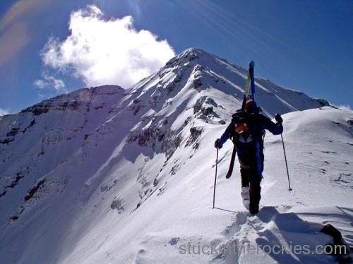 14er Ski Descents – Castle Peak – October 7, 2004