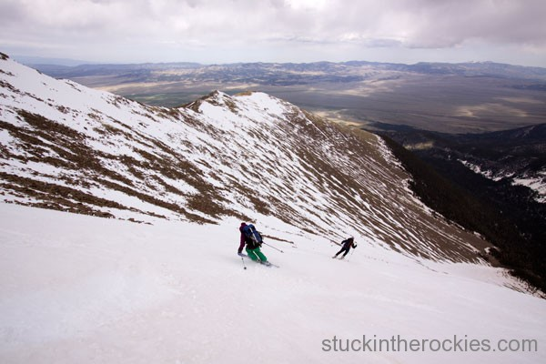 humboldt peak ski descent, ski sangre 14ers