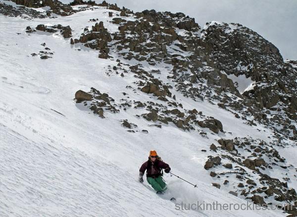 14er Ski Descents – El Diente – May 5, 2010
