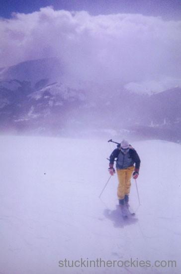 14er Ski Descents – Quandary Peak – April 24, 2000