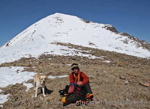 14er Ski Descents – Quandary Peak – April 14, 2005