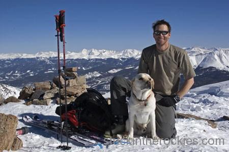 14er Ski Descents – Quandary Peak – January 24, 2006