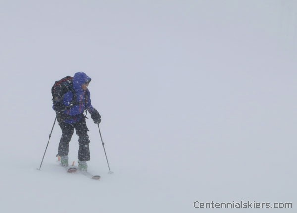 dyer mountain, ski 13ers, christy mahon