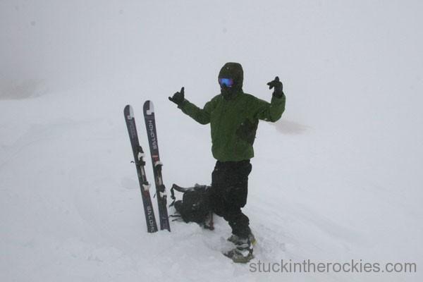 14er Ski Descents – Mount Sherman – March 15, 2006