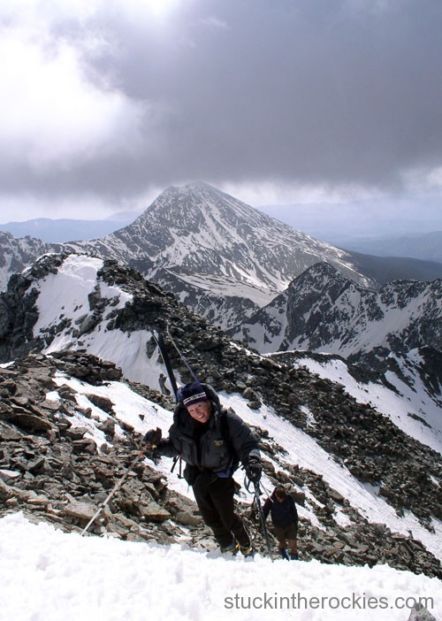 14er Ski Descents – Ellingwood Point – May 16, 2004