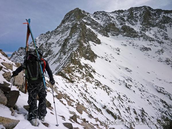 14er Ski Descents – Little Bear Peak – March 6, 2010