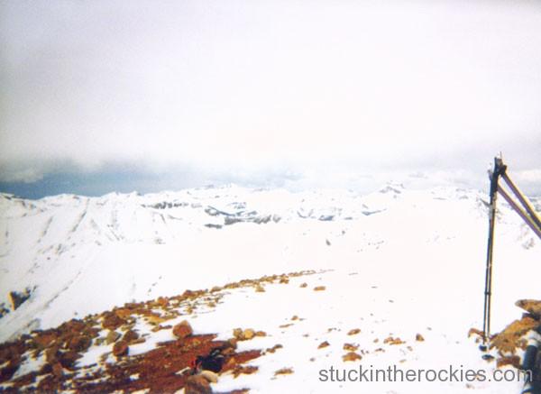 14er Ski Descents – Sunshine Peak – May 24, 1999