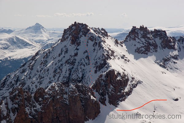 14er Ski Descents – Sunlight Peak – May 27, 2007