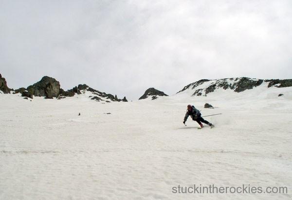 14er Ski Descents – Wilson Peak – May 20, 2004