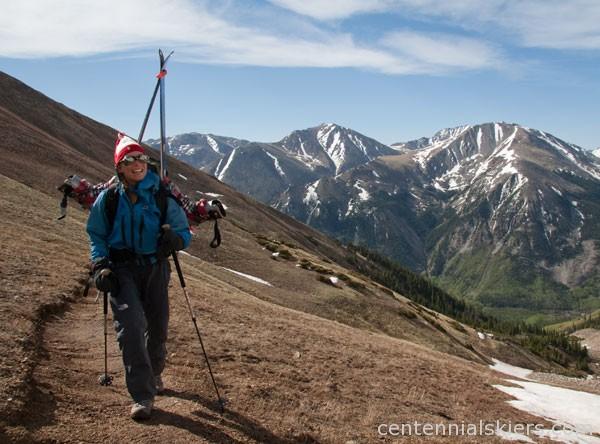 christy mahon, hope pass, ski mount hope