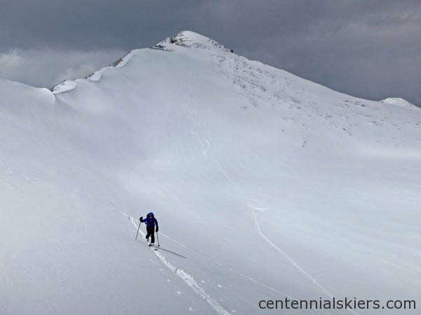 ski 13ers, atlantic pacific peak,