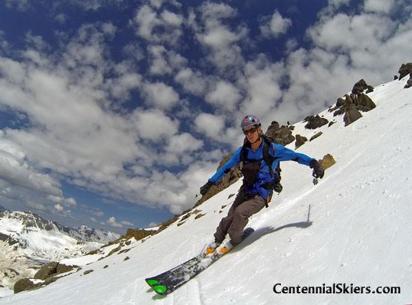 teakettle mountain, centennial skiers, ted mahon
