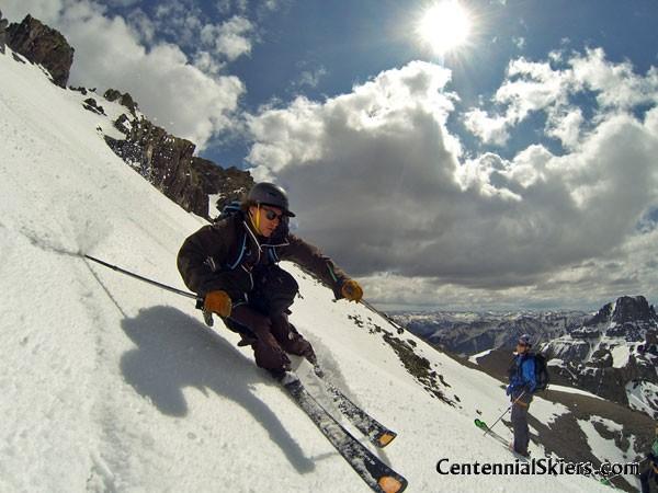 teakettle mountain, centennial skiers, ian fohrman