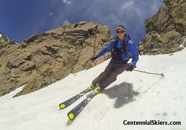 ted mahon, centennial skiers
