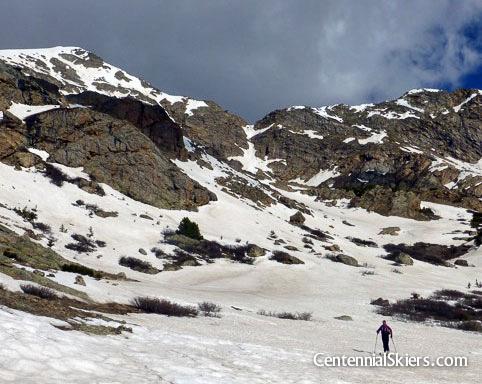 Centennial skiers, halfmoon lakes, mount oklahoma,, christy mahon