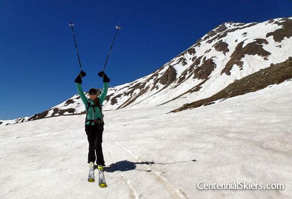 christy mahon, centnennial skiers