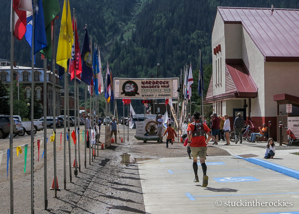 A little Hardrock 100 home video