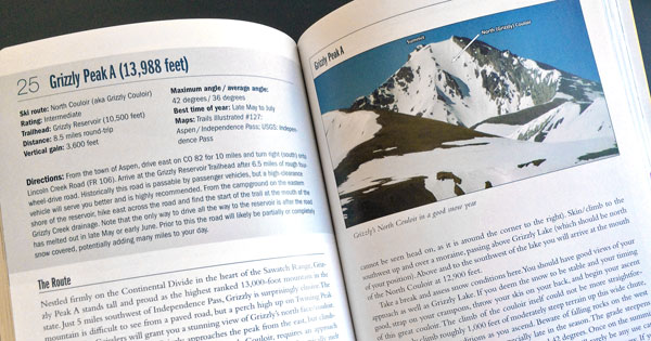 Climbing and Skiing Colorado's Mountains – the guidebook