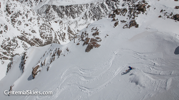 Dave Bourassa, Centennial Skiers, holy cross ridge