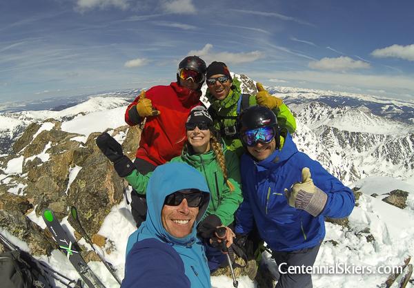 Centennial Skiers, holy cross ridge