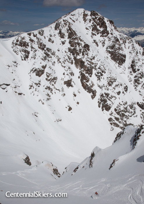 mark cavaliero, Centennial Skiers, holy cross ridge