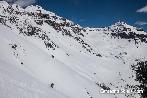 christy mahon, centennial skiers