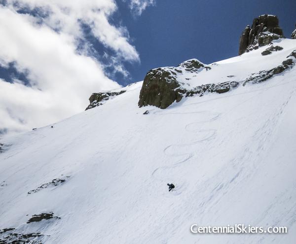 ted mahon, dallas peak, centennial skiers