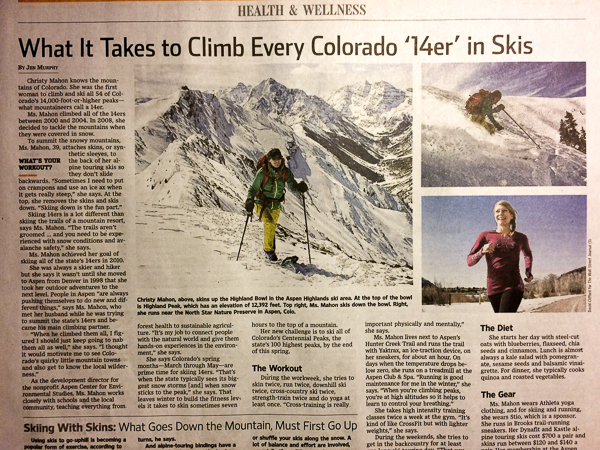 """What It Takes to Climb Every Colorado '14er' in Skis"""