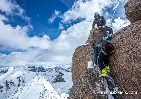 Jagged Mountain summit