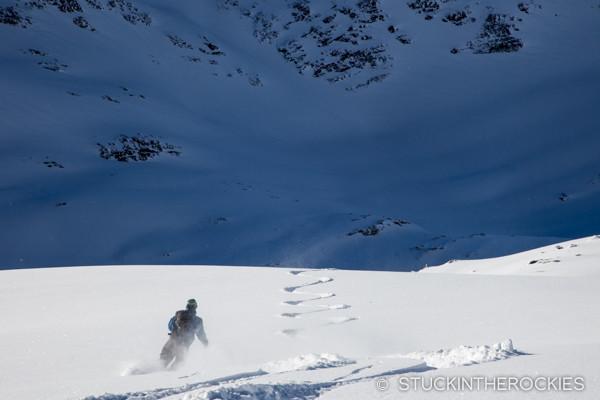 Jerry Murdock on Snow Ocean.