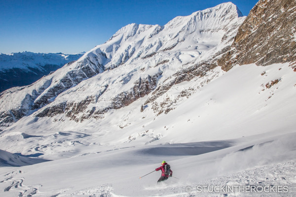 Golden eagle ski run in the Cariboos