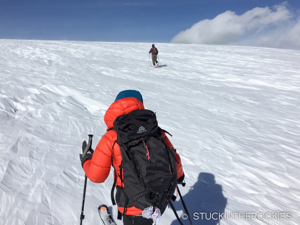 Christy Mahon heads to Lindley Hut