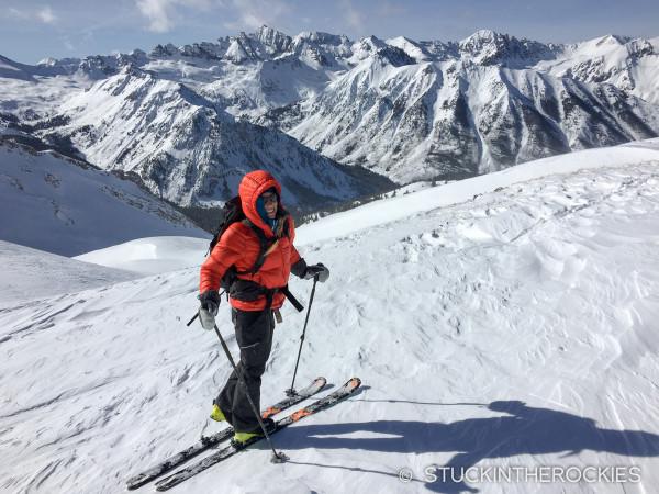 Christy Mahon and Castle Peak