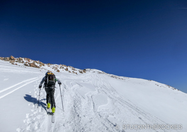 Skinning Dyer Mountain in the Father Dyer Postal Route