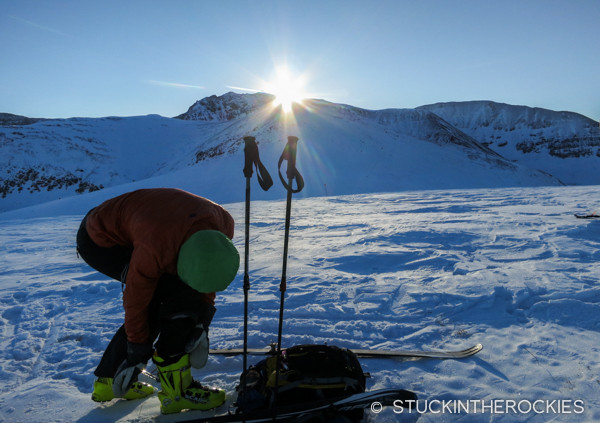 Ball Mountain summit