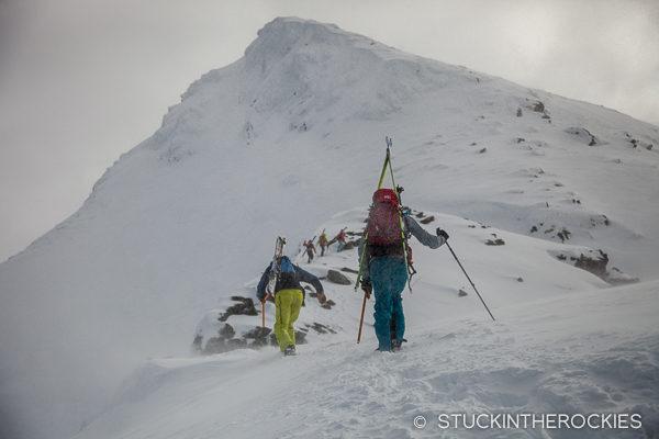 Climbing Andersdaltinden