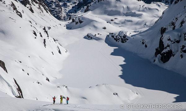 Skiing at Troll Hut
