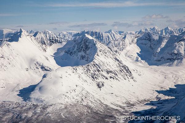 Lyngen Alps view