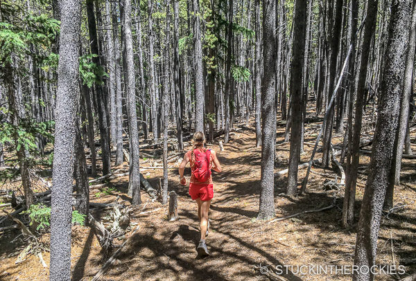 Christy Mahon on the Salt Creek Trail