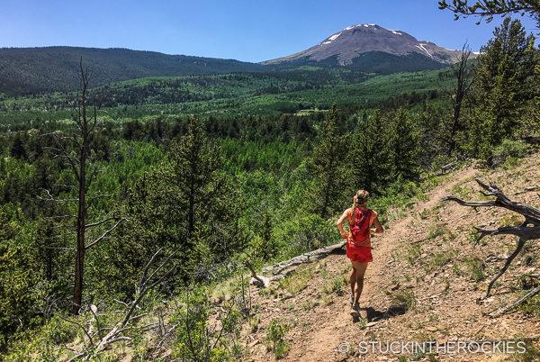 Running the Buffalo Peaks Wilderness