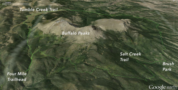 Buffalo Peaks Loop